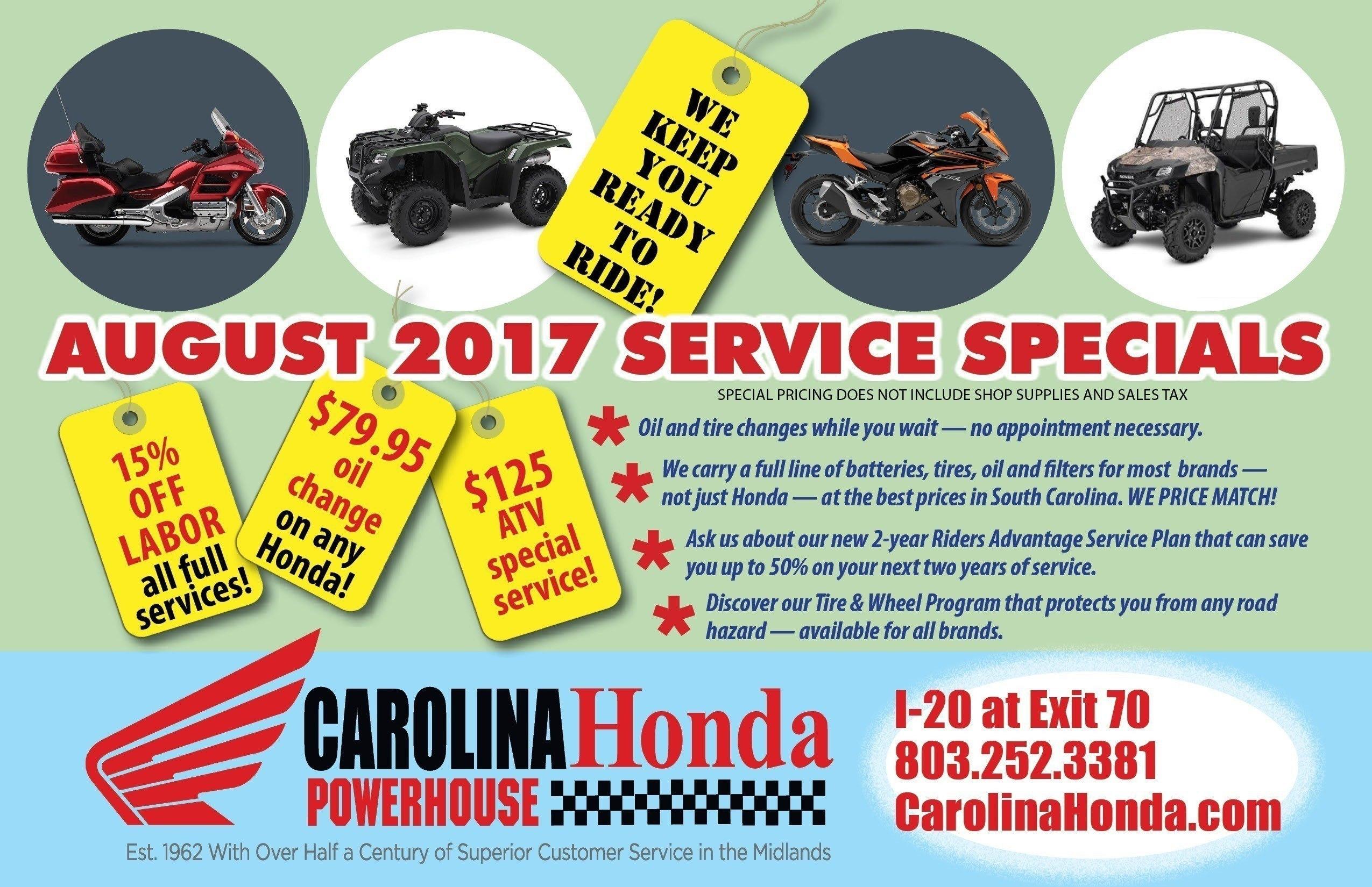 honda motorcycle service columbia south carolina   motorcycle
