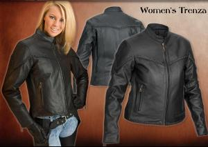 river road, trenza, leather, jacket, women